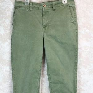 Madewell Fit f4803 Chino Ankle Pant Women Size 32